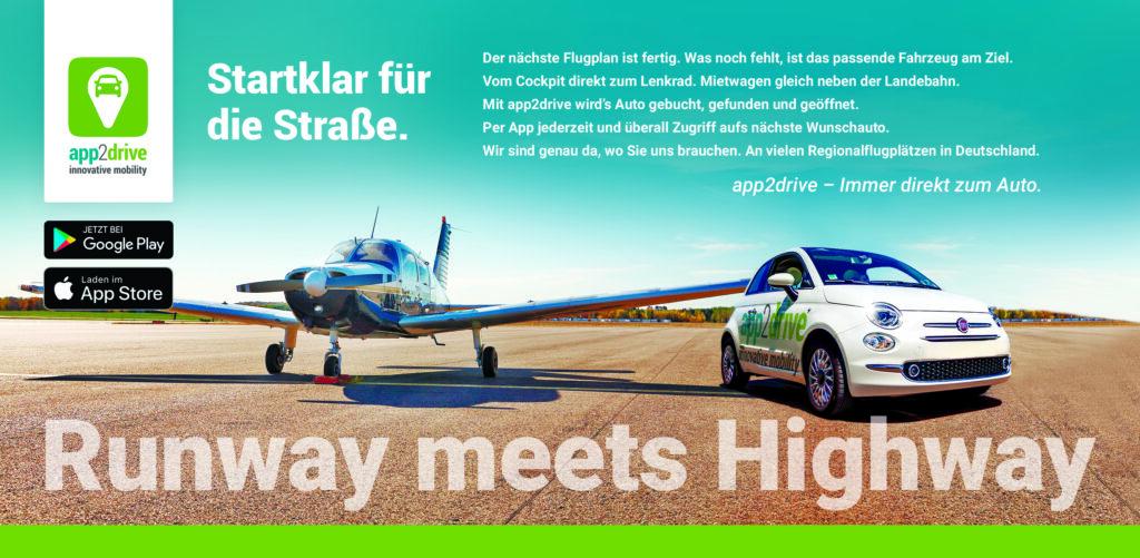 EDMB: Runway meets Highway mit app2drive